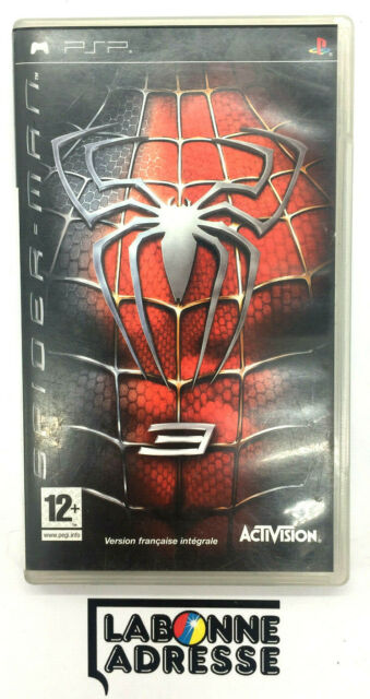 PSP JEU VIDEO SPIDERMAN 3 - COMPLET FRANCAIS