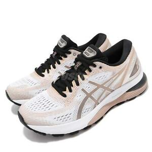 Details about Asics Gel-Nimbus 21 Platinum White Frosted Almond Womens Run  Shoes 1012A608-100