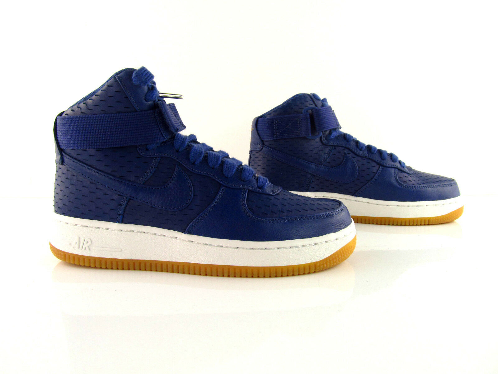 Nike Air Premium Force 1 HI PRM Premium Air Dark Purple Dust New US_6.5 EUR 37.5 c716d8