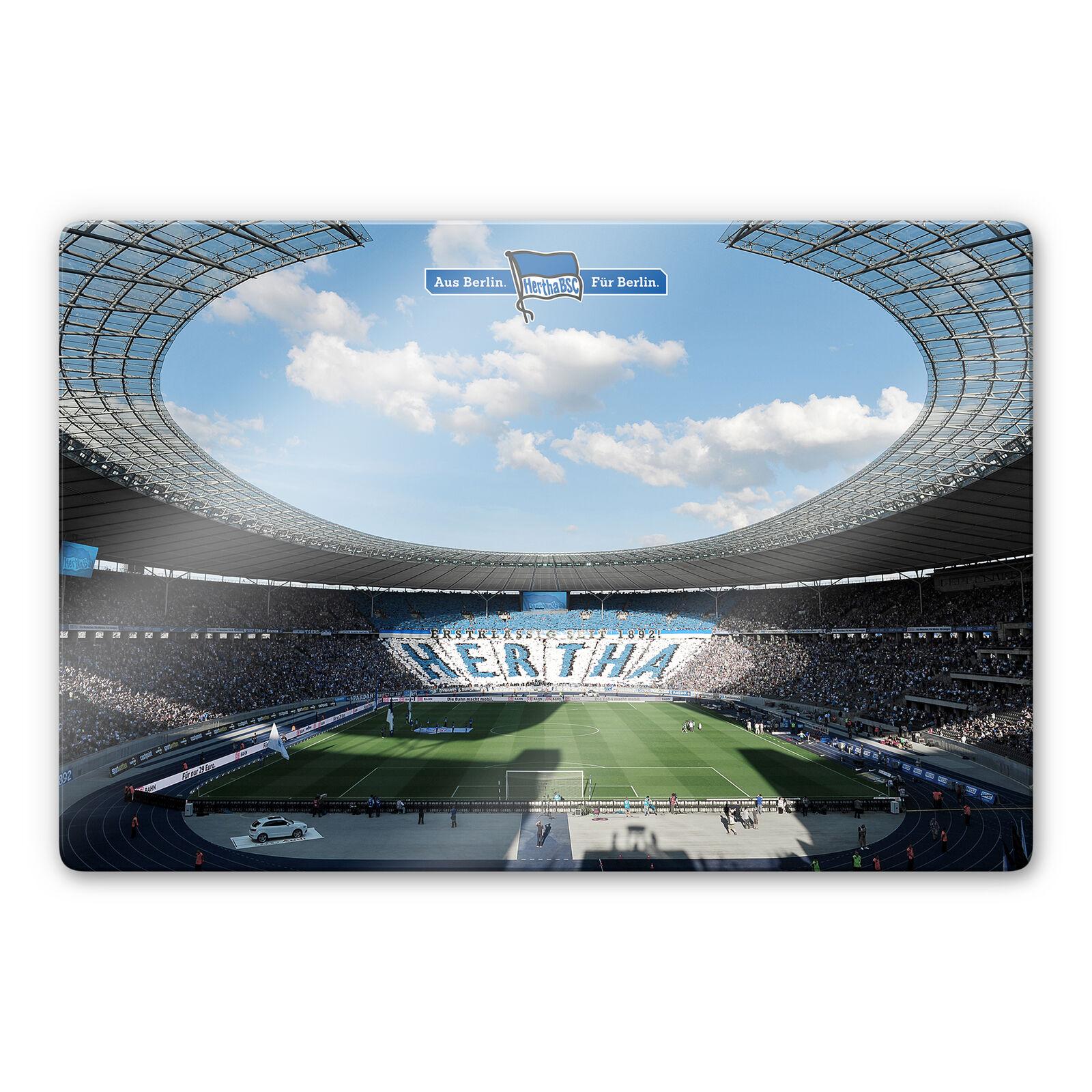Glasbild Hertha BSC - Stadion am am am Tag 1dbbd2