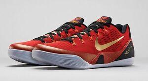 detailed look cd76a d5766 Image is loading Nike-Kobe-9-IX-Low-EM-China-QS-