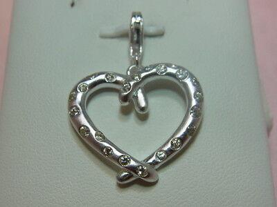 Fine Jewelry 5084-925er Silber Anhänger Herz Von Luger Lang 3,5 Cm Breit 2,5 Cm Gew 5,6 Gramm