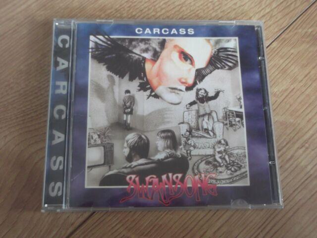 CARCASS - SWANSONG 1995 CD DEATH METAL