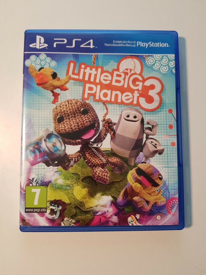 Little big planet 3, PS4