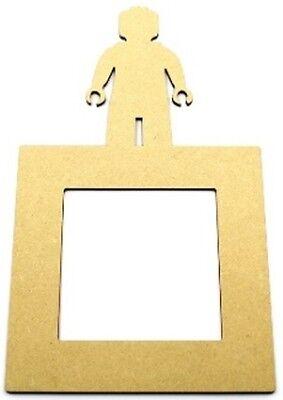 Light Switch Surround Construction Brick Man Mdf blank similar style to Lego
