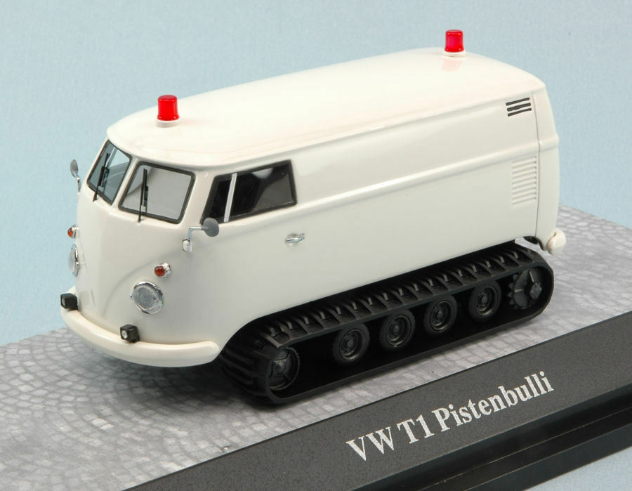 Volkswagen VW T1 Pistenbulli blanco 1 43 Model PREMIUM CLASSIXXS