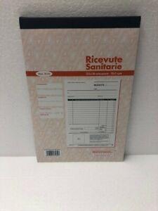 Multiart Blocco Ricevute Sanitarie a 2 copie 50x2