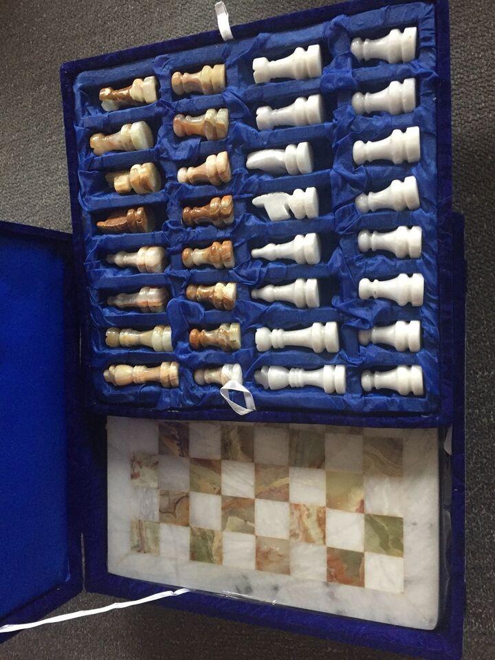Efterstræbte Marmor skak , Strategi skak, – dba.dk – Køb og Salg af Nyt og Brugt ZK-28