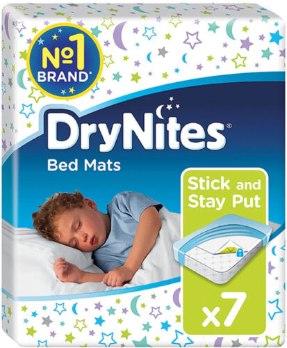 3 X Huggies Drynites Bed Mats FREE  DELIVERY 7