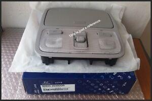 Overhead Console Lamp Light Sunglasses GRAY for 2005-2009 Hyundai Tucson New