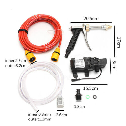 Car DC 12V Electrical Wash Pump Pressure Self-priming Cleaning Water Washer Tool