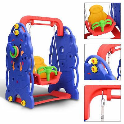 Toddler Baby Swing Kids Playground Garden Home Outdoor Seat Play Fun Toy Safety