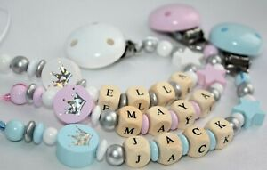 Sparkle Personalised Dummy Clip