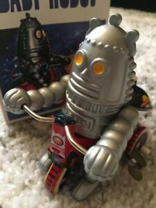 Tinplate-mainspring-robot-Retro-Showa-Tin-Limited-Vintage-Rare-toy-Antique