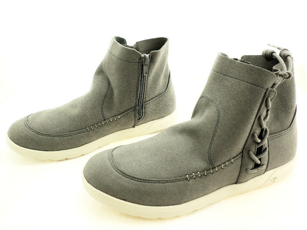 Bearpaw Women's Piper Ankle Boot, Dove Grey Suede, 8.5 M US