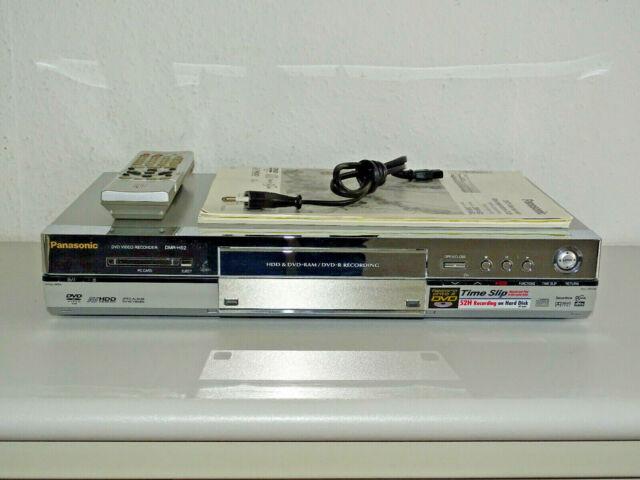 Panasonic DMR-HS2 DVD-Recorder / 40GB HDD, inkl. FB&BDA, 2 Jahre Garantie