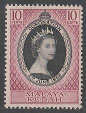 Kedah 10c Coronation QEII  mnh 1953 # E 109