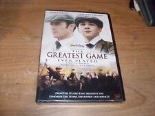 Walt Disney The Greatest Game Ever Played (DVD Movie, 2006) True Story Drama NEW