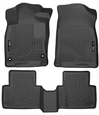 Husky Liners WeatherBeater Floor Mats- 3pc Black Toyota C-HR 2018 95651