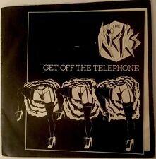 "INCREDIBLE KIDDA BAND/THE KICKS - GET OFF THE TELEPHONE 80s 7"" P/S RARE POWERPOP"