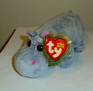 Ty Beanie Baby - TUMBA the Hippo (7 Inch) MINT with MINT TAGS