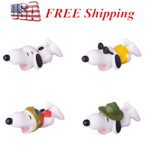 Snoopy Cable Bite 4 PCS Cable Protector For iPhone Cable Snoopy Toy