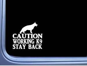 Caution-Working-German-Shepherd-6-034-sticker-J767-k9-decal-sticker