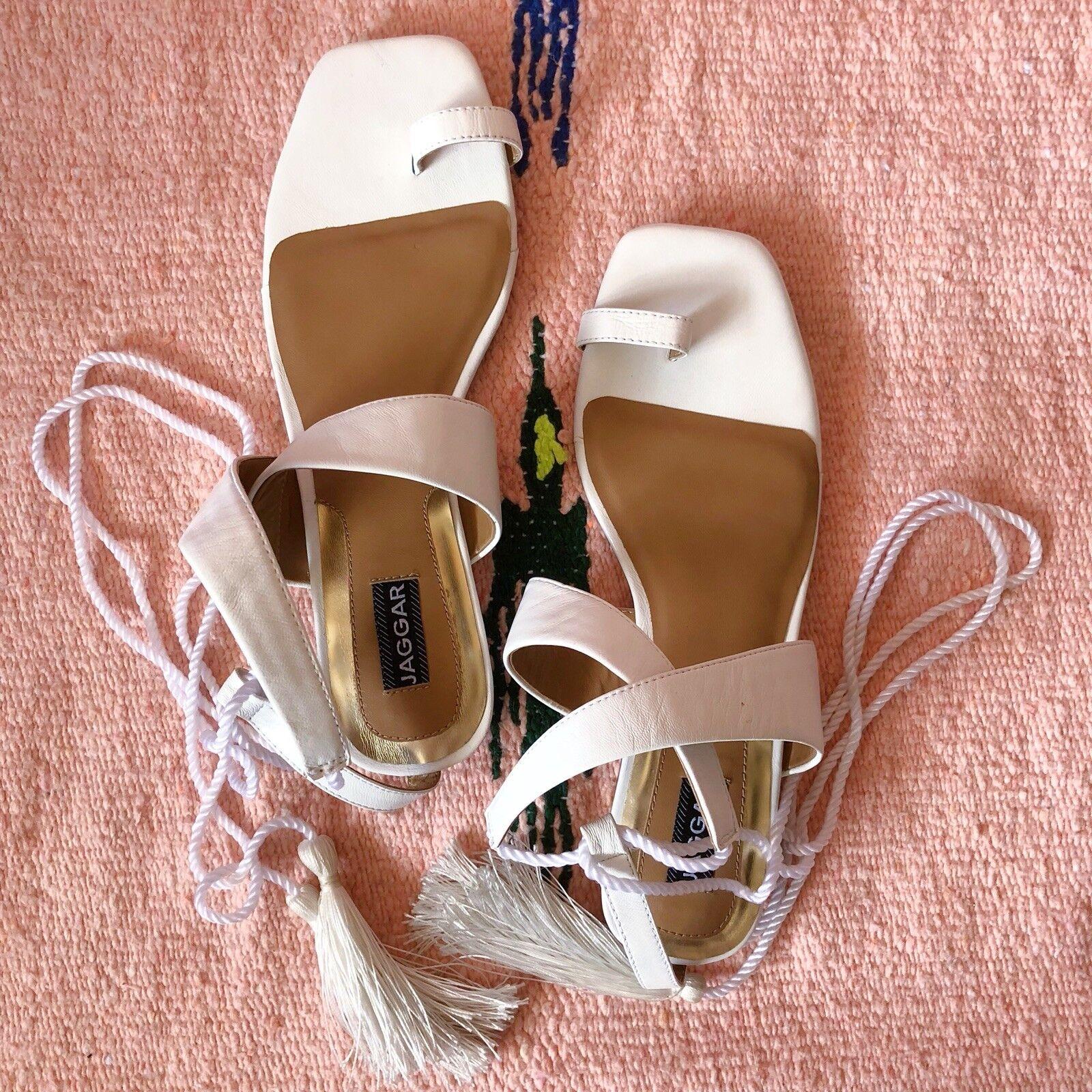 Jaggar Tassel Tassel Tassel Ankle Strap Sandals bd0ff9
