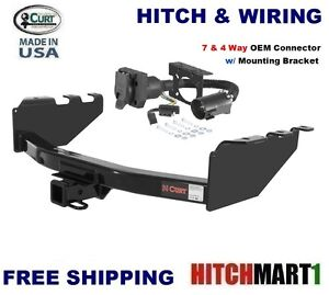 10k curt trailer hitch 7 way wiring for 2008 2017 chevy. Black Bedroom Furniture Sets. Home Design Ideas