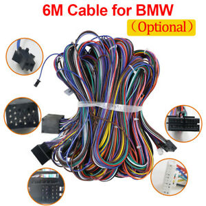 EXTENSION CABLE KIT FOR BMW E46 E39 E53 FOR BM24 RADIO REPLACEMENT