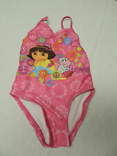 Girls Dora 1 Piece Swimsuit 24 Months Pink Paz & Love Design  EUC Very Cute