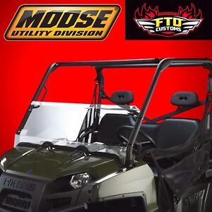 Moose Utility Division Utv Half Windshield 09 14 Polaris Ranger 700 800 Ebay