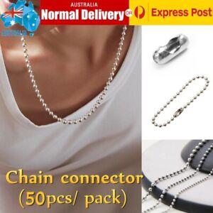 10x Roller Blind Ball Chain Cord Connector Joiner Vertical Roman Holland Part
