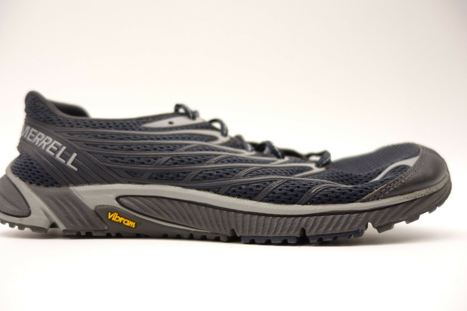 Merrell Mens Athletic Bare Access 4 Mesh Athletic Mens Support Hiking Trail Shoes Sz 8 5b7e9b