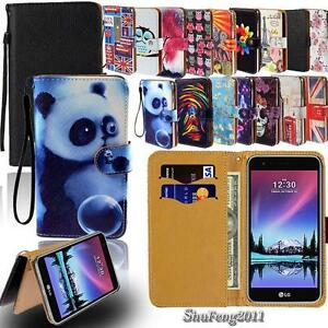 sports shoes a59e8 b89c0 Details about For LG K3 K4 K5 K7 K8 K10 K20 Phones - Flip Wallet Card Stand  Leather Case Cover