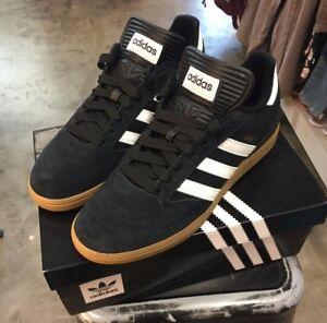Adidas Busenitz Pro - Black/Running White/Metallic Gold