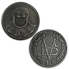 Game Of Thrones Iron Coin of the Faceless Man HBO Arya Stark Valar Morghulis