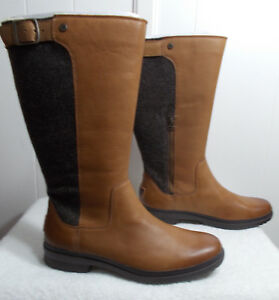 6773596dcbe Details about NEW UGG Boots JANINA Chestnut Women's Size 10