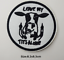 miniature 10 - Sew-Iron-On-Round-Patches-Popular-Badge-Transfer-Embroidered-Funny-Biker-Slogan