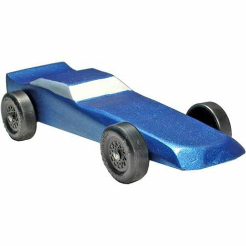 Pinewood Derby Car Sport Coupe Pre Painted Ebay