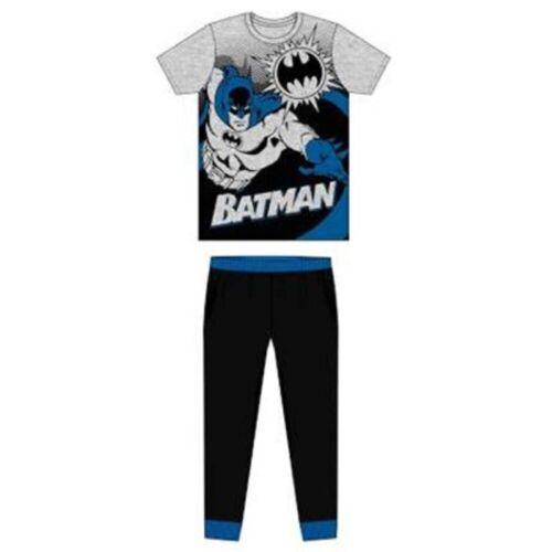 Men/'s Batman Pyjamas Set Men/'s DC Superhero Cotton Pyjamas Set Size S-XL