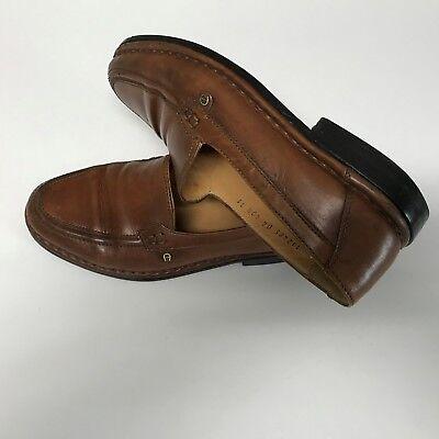 Details zu Herren Schuhe Slipper Mokassins Camel Active Monza 41,5 UK7 cognac braun Leder
