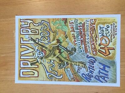 Wes Freed Drive By Truckers Artwork Autographed Signed Lithograph Poster Limited