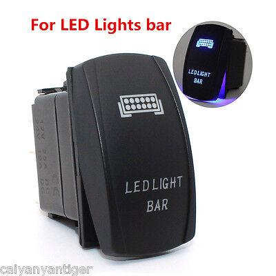 Pair Rocker Switches LED Light Bars For Polaris RZR 4 XP 900 1000 Ranger 10A 24V