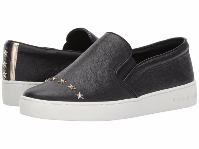e5928fb4c52c8 Michael Michael Kors MK Signature Keaton Slip on SNEAKERS 723 Black ...