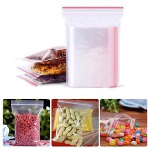 8-Size-Jewelry-Ziplock-Zip-Zipped-Lock-Reclosable-Plastic-Poly-Clear-Bags-100Pcs