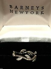 """Cathy Waterman Platinum Diamond Ring Band """"Vine and Leaf""""  Size 6"""