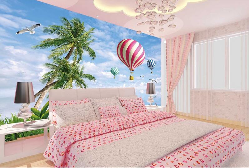 3D Sky Hot Balloons 88 Wall Paper Murals Wall Print Wall Wallpaper Mural AU Kyra