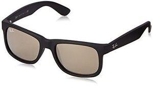 Ray-Ban Wayfarer Justin Gold Mirror Unisex Sunglasses - Rb4165 622 5a 51 add95f61b417d