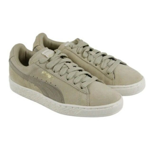 17f9cc73a54 Suede Classic Puma Mens Fashion Sneakers Pale Khaki Chinilla SIZE 7 US NEW